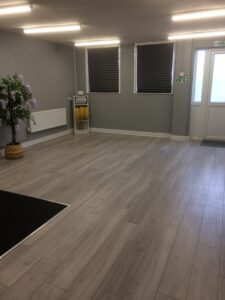 A beautiful space for teaching massage to individual and couples.
